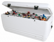 150 Qtz Cooler Box  | Igloo Maxcold Quick n Cool - 7 Day Cooler